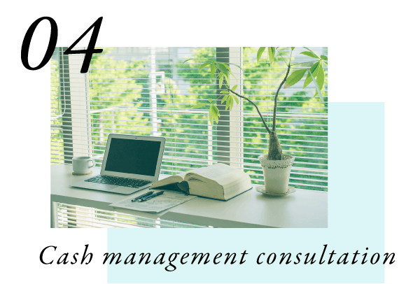 Cash management consultation